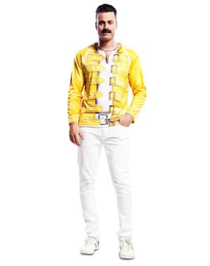 Freddie Mercury a Queen sárga ing