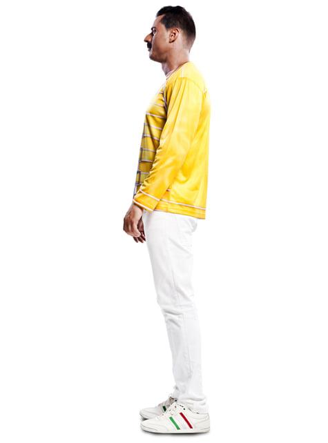 Camiseta amarilla de Freddie Mercury Queen
