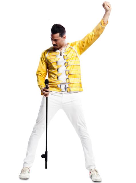T-shirt gialla di Freddie Mercury Queen
