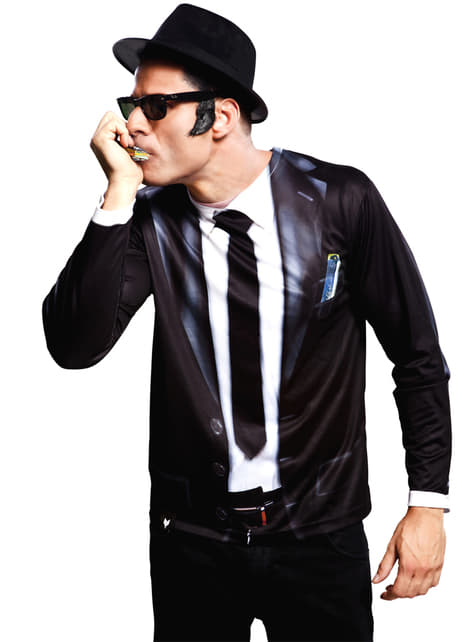 Chemise Blues Brothers