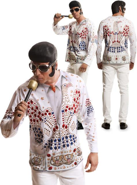 Camisola Elvis Rei do rock n' roll para homem