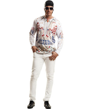Shirt Koning rock n' roll voor mannen