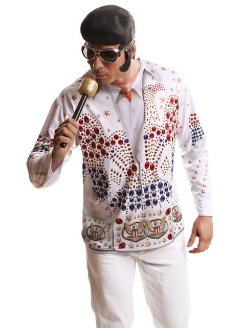 Camiseta Rey del rock n' roll para hombre - traje
