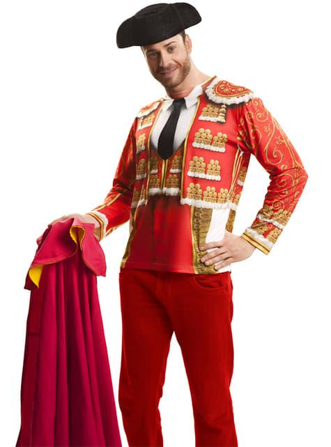 Camiseta torero tradicional para hombre - comprar