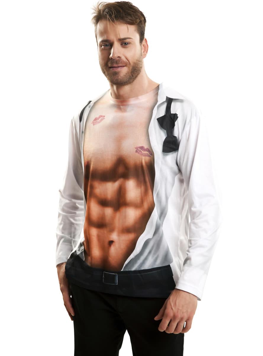 2016 primavera Polk puntos hombres casual camiseta de