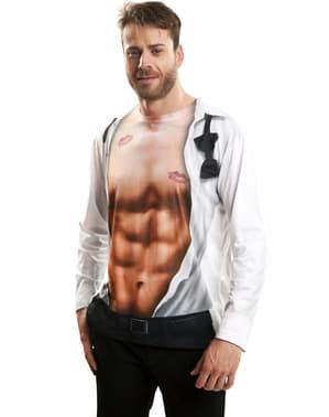 Sexy Mann T-Skjorte til Menn