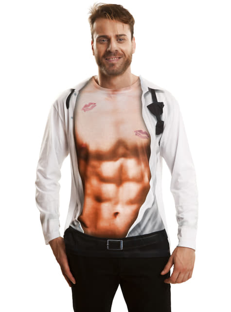 T-shirt sexy boy homme