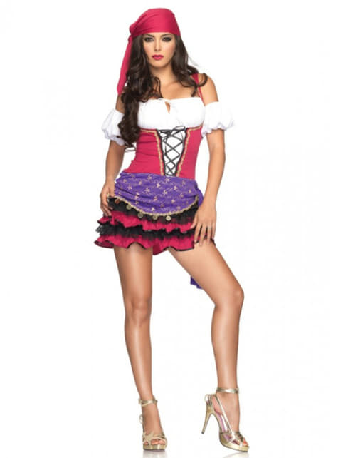 Intoxicating gypsy costume for a woman