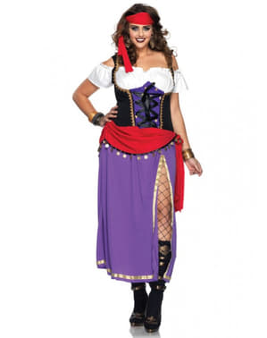 Gypsy Costume for Women Plus Size