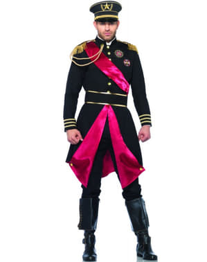 Military general costume for a man