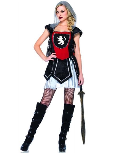 Disfraz de guerrera real para mujer