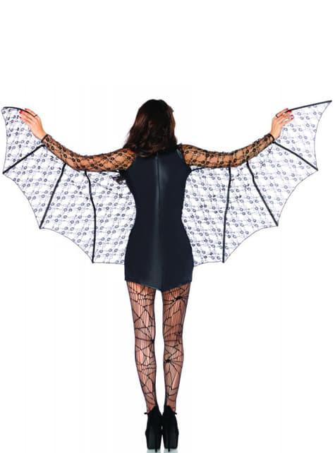 Fato de morcego para mulher
