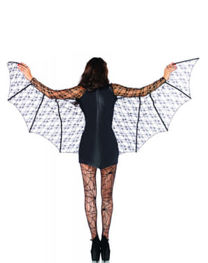 Zwarte vleermuis Kostuum voor vrouw