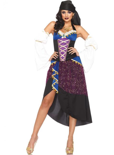 Fato de cigana feiticeira para mulher
