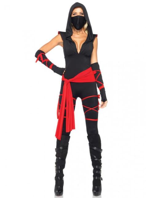 Dodelijke ninja Kostuum voor vrouw