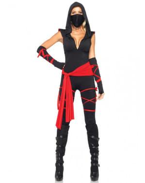 Disfraz de ninja mortal para mujer