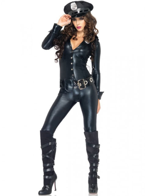 Sexy police officer costume for a woman