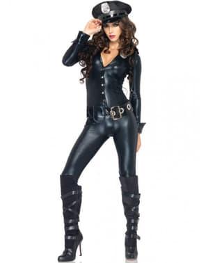 Costum de ofițer de poliție sexy pentru femeie