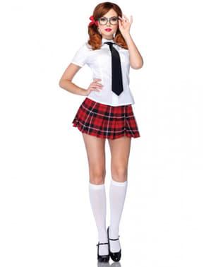 Costum de studentă silitoare pentru femeie