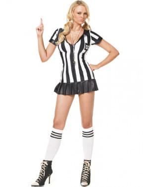 Costum de arbitru sexy pentru femeie