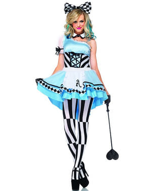 Psychodelische Alice Kostüm für Damen