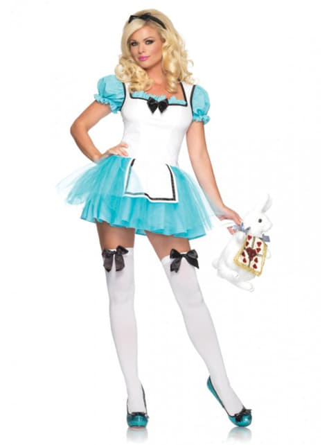 Woman's Enchanted Alice costume