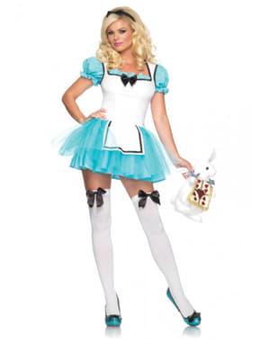 Verzauberte Alice im Wunderland Kostüm für Damen