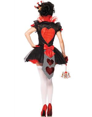 Déguisement Reine des Cœurs femme