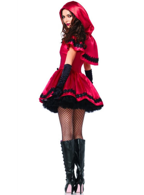 Little Red Riding Hood gothic story costume for a woman
