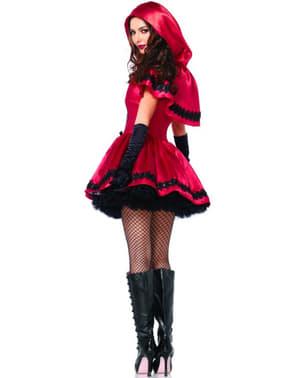 Lille rødhætte kostume til kvinder
