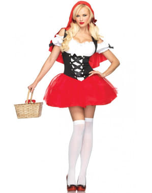 Costume da Cappuccetto Rosso sexy per donna