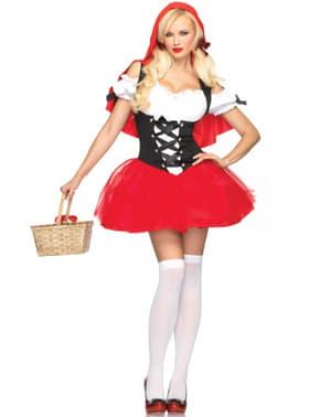 Rotkäppchen sexy Kostüm für Damen