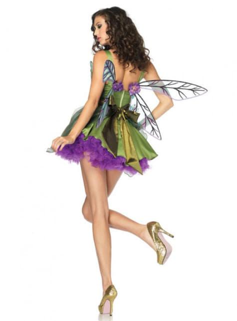Fairy dari kostum tanah yang terpesona untuk wanita