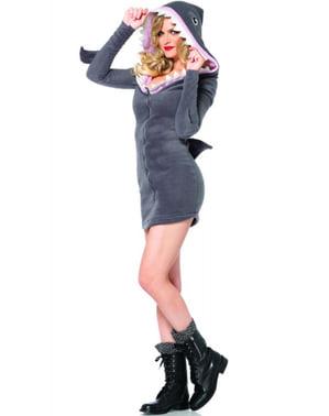 Costum de rechin adorabil pentru femeie