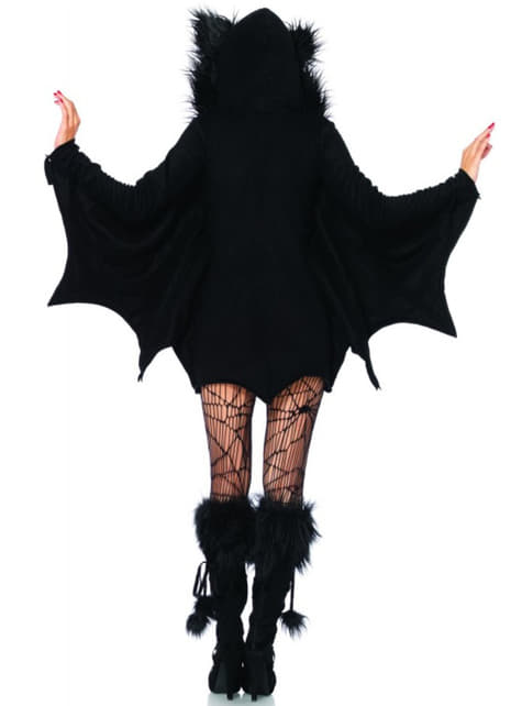 Adorable bat costume for a woman