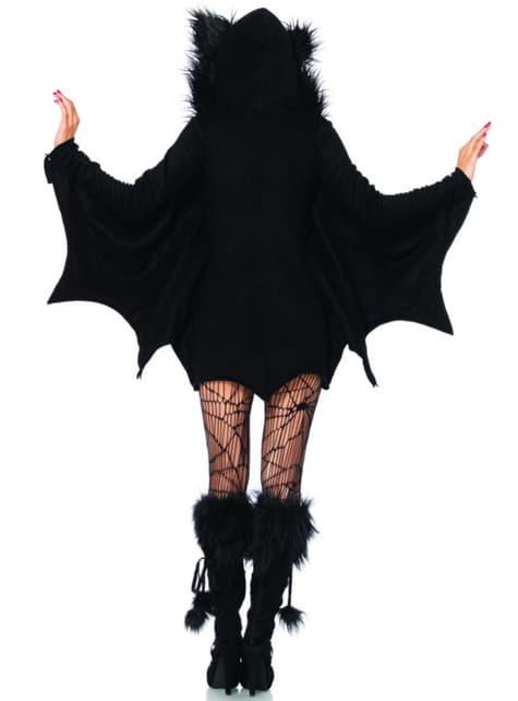 Costume da pipistrello adorabile donna
