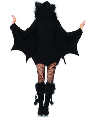 Rozkošný dámsky kostým netopier