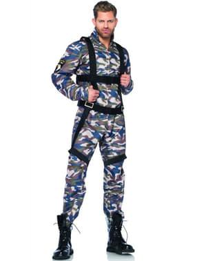 Déguisement parachutiste homme