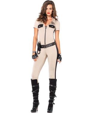 Geheimagentin Kostüm für Damen