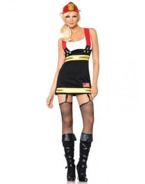 Вибуховий пожежний костюм для жінки