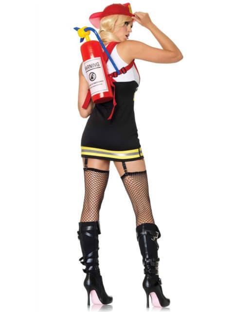 Disfraz de bombera sexy - mujer