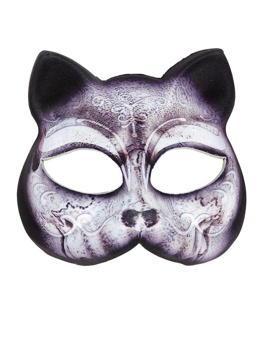 Maschera da gatto senza mento donna i pi divertenti - Pagina colorazione maschera gatto ...