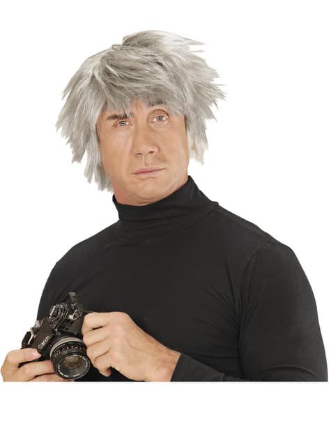 Peruka Andy Warhol męska