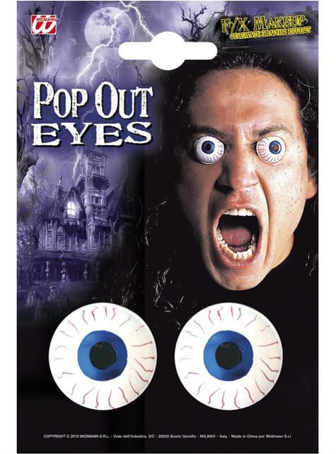 Ojos aterradores para hombre