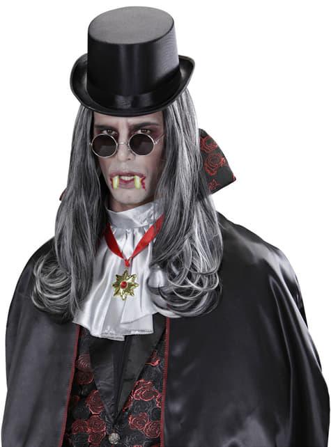 Dentadura de vampiro fosforescentes unisex - original