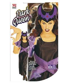 Disfraz de reina de la oscuridad para mujer