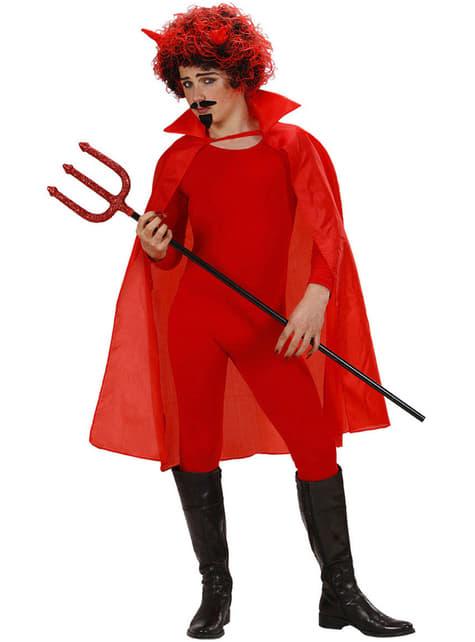 Capa roja fina unisex - para tu disfraz