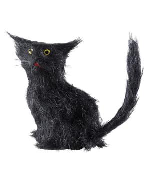 Dekorační figura černá kočka