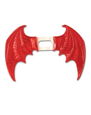 Maxi Flügel rot für Damen