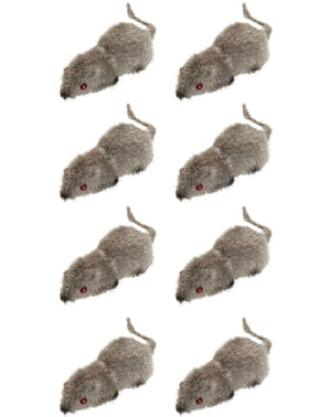 Ratones diminutos de juguete